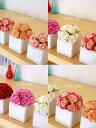 NEWミニ鉢にギュッとミニバラ造花光触媒楽ギフ_包装