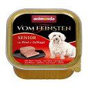 【アニモンダ】フォムファインステン缶 シニア(シニア犬用) 牛肉・豚肉・鳥肉 150g | ドッグフード 犬 ごはん ペットフード 犬の餌 ドックフード dog food 犬用 ドッグ ペット フード えさ