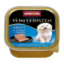 【アニモンダ】フォムファインステン缶 アダルト(成犬用) 鳥肉・豚肉・牛肉・タラ 150g | ドッグフード 犬 ごはん ペットフード 犬の餌 ドックフード dog food 犬用 ドッグ ペット フード えさ