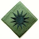 新品実物US-ARMY【アメリカ陸軍ワッペン】米軍部隊章・第40歩兵師団・サンシャイン