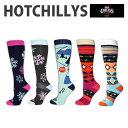 HOT CHILLYS ホットチリーズ レディース フィエスタスソックス 女性用 冬 スキー スノボ アウトドア 雪山 ノルディック 靴下 HC2406P H..