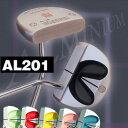 【ツアーを席巻したアルミニウムのソフトフィール】【半額】 THREE LUCK (スリー・ラック) DELICA TOUCH(デリカ・タッチ) パター AL201