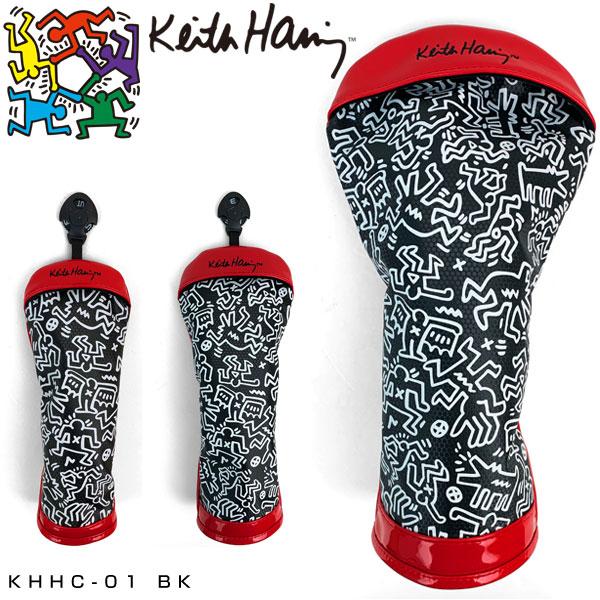 キースヘリングゴルフドライバー用/フェアウェイウッド用/ユーティリティ用ヘッドカバーPatternK