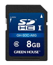 �ڥɥ�쥳�� Green House 8GB�ɥ饤�֥쥳����������SDHC������ ��GH-SDC-A8G��