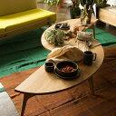 Luu Table リビングテーブル 幅 130cm 奥行き 45cm 高さ 33cm オーク天板 | テーブル コーヒーテーブル ローテーブル 無垢 無垢材 オー..