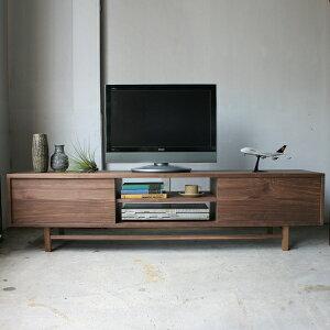 テレビボード AV board W1800 walnut | TV台 TVボード
