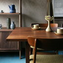 RoomClip商品情報 - 無垢家具 北欧家具 無垢材 シンプル ワークデスク ダイニングテーブル ウォルナット リビング ダイニング 天然木 高品質 | グリニッチオリジナル DiningTable 1500 (walnut)