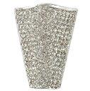 アクセサリーパーツ マグネットホルダー ラインストーン ダイアモンド 全長4cm 2個セット ブートニア オーナメント 花材 資材 アレンジメント 装飾 フラックス Flax
