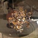 3g 本物の時計の部品・極小 チャーム レジン UVレジン アクセサリー 懐中時計 歯車 スチームパンク