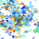 ガラスのつぶつぶMIX(カレット20g) アクセサリーパーツ/ハンドメイド/UVレジン/封入/海/夏/ランダム/
