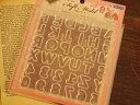 【シリコン型・モールド】アルファベット&数字[レジン 型/uvレジンクラフト/uvレジン 土台/uvレジン シリコン/枠/押し型]