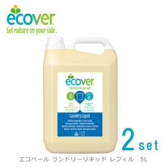 [2 集] 易卡洗衣液筆芯 5 L (易卡 / 洗衣粉用衣物洗滌劑 / / 生態友好型洗滌劑 / 5412533002096)