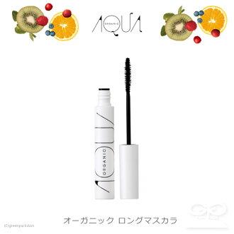 Aqua Aqua 有機長睫毛膏黑色 6.5 g (AQUA AQUA / Aqua/礦物睫毛膏睫毛 / 日本 / 有機化妝品 / 4589931910108)