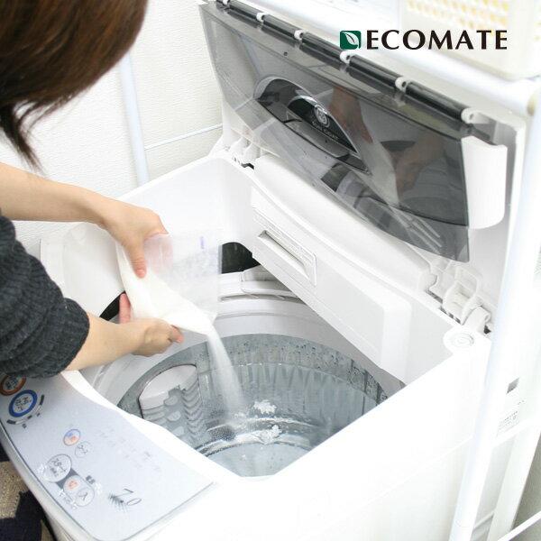 エコメイト洗濯槽クリーナー(ECOMATE/洗濯機洗浄/洗濯槽掃除/洗濯用品/洗濯機/クリ…...:greenpacks:10000654