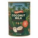 マキシマス・オーガニックココナッツミルク 400g ow jn