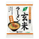 オーサワのベジ玄米ラーメン 担担麺 132g(うち麺80g) ow jn