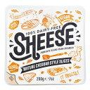 スライス・シーズ・熟成チェダースタイル 200g【ベジタリアンチーズ Vegan Cheese sheese】 200g tt jn