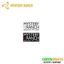 【国内正規品】 ミステリーランチ ヘリテージロゴステッカー シール MYSTERYRANCH Hritage Logo Sticker