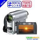 【レンタル】 【6泊7日HC62】 ソニー MiniDVビデオカメラ minidv ビデオカメラ SONY DCR-HC62 minidv ビデオカメラ