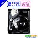 【レンタル】 【1泊2日mini 50s】 フジフイルム チェキ インスタントカメラ チェキ レンタル FUJIFILM instax mini 50s チェキ レンタル