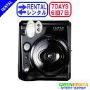 【レンタル】 【6泊7日mini 50s】 フジフイルム チェキ インスタントカメラ チェキ レンタル FUJIFILM instax mini 50s チェキ レンタル
