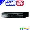 【レンタル】 【6泊7日DMR-BR670V 】 パナソニック HDDVHSブルーレイディスクレコーダー 一体型 PANASONIC DMR-BR670V HDD搭載VHS一体型ハイビジョン DVD BDレコーダー