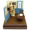 紅の豚 みにちゅあーとキット 電話するポルコ スタジオジブリ mini ポルコロッソ/ペーパークラフト/さんけい【60】