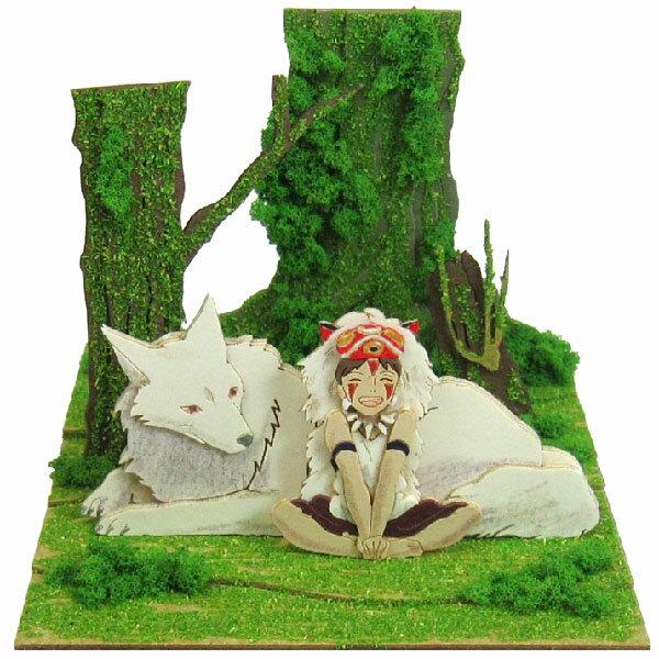 セール★もののけ姫 みにちゅあーとキットmini【サンと山犬】(MP07-45) ペーパー…...:grengren:10015788