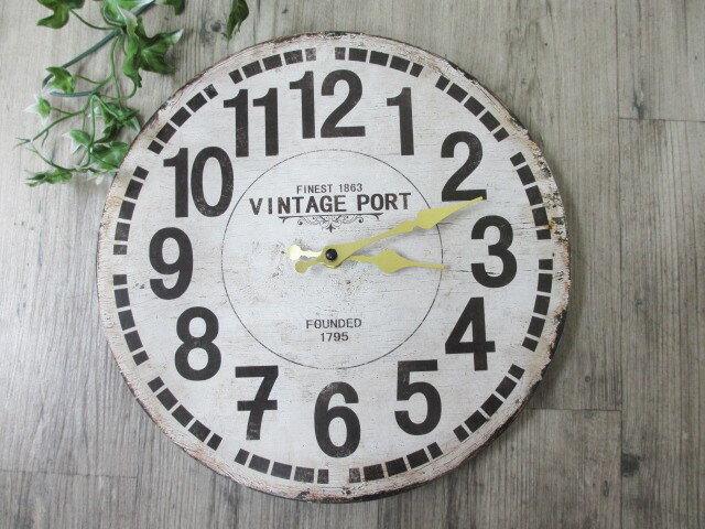 アンティーク風木製壁掛け時計オールドルック VI...の商品画像