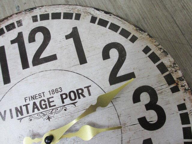 アンティーク風木製壁掛け時計オールドルック V...の紹介画像2