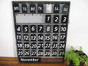 RoomClip商品情報 - セール★TOOLS BASE CALENDAR ティンプレートカレンダー spa-DRBT2800/カントリー雑貨/万年カレンダー/アイアン