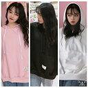 大きいサイズ 韓国ファッション レディース ファッション Tシャツ 3色入 パーカー LL〜4L(T) 韓国 ファッション 韓流 服 洋服 かわいい 大きめ ぽっちゃり 可愛い おしゃれ レディースファッション アパレル ユニセックス