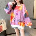ショッピングLL 大きいサイズ 韓国 レディース ファッション パーカー LL 4L(T)