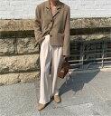 ショッピングベビードール 大人っぽくシックな印象 韓国 カジュアル スーツ ファッション カレッジ風 ショート丈 コート(T)