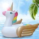 ショッピング浮き輪 浮き輪 ユニコーン キッズうきわ プール用品 海で遊び浮き輪 水あそび 浮き具(T)
