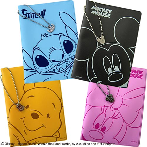 Disney ディズニー PVC パスポートカバー 2379 12点までメール便OK(ko…...:griptone:10002634