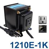 TGK1210E-1K Aタイプアースピン付ダウントランス 日本製 AC110-120V?降圧?100V(容量1000W)(to6a025)【RCP】