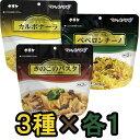 【セット】備蓄用保存食アルファ化スパゲティ サタケ マジック...