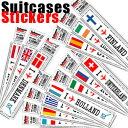 送料299円〜 「tc150」「pa」Footprint Stickers(フットプリントステッカー) 国名ステッカー ヨーロッパ FP-000 100点迄メール便OK(ze0a003)