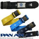 PAN AM パンナム ワンタッチスーツケースベルト 509047 1点のみメール便OK(je1a387)