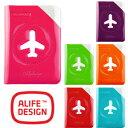 ALIFE アリフ ハッピーフライト スキミング防止 シールドパスポートカバー sncf-122 4点までメール便OK(su0a149)【RCP】
