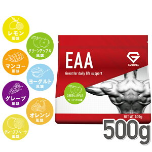 GronG(グロング) EAA 必須アミノ酸 風味付き 500g
