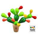 プラントイ 木のおもちゃ PLANTOYS サボテンバランス...