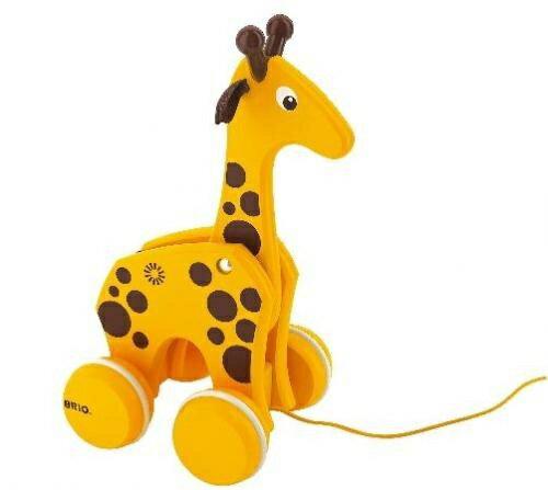BRIO(ブリオ) 木のおもちゃ キリンプルトイ ベビー 木のおもちゃ 木製玩具
