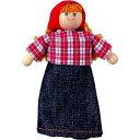 木製玩具 プラントイ ファーマーズワイフ 人形 おままごとに