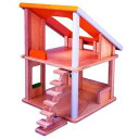木製玩具 プラントイ シャレードールハウス 2階建て家 おままごとに