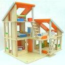 木製玩具 プラントイ シャレードールハウス家具付き おままごとに