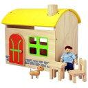 木製玩具 プラントイ ドールハウス ファームハウス おままごとに