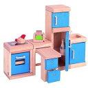木製玩具 プラントイ ドールハウス カラーキッチン おままごとに