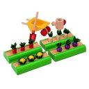 木製玩具 プラントイ プランドールハウス 菜園セット おままごとに